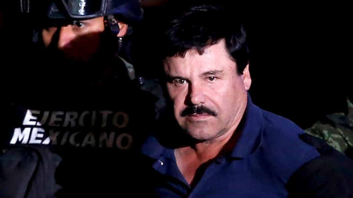 El Chapo: Mexican president says police 'did right' to free drug lord's son