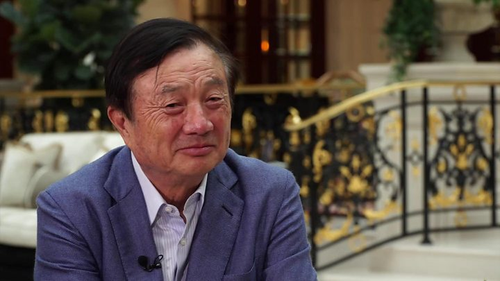 Huawei's founder says 'no way US can crush us'