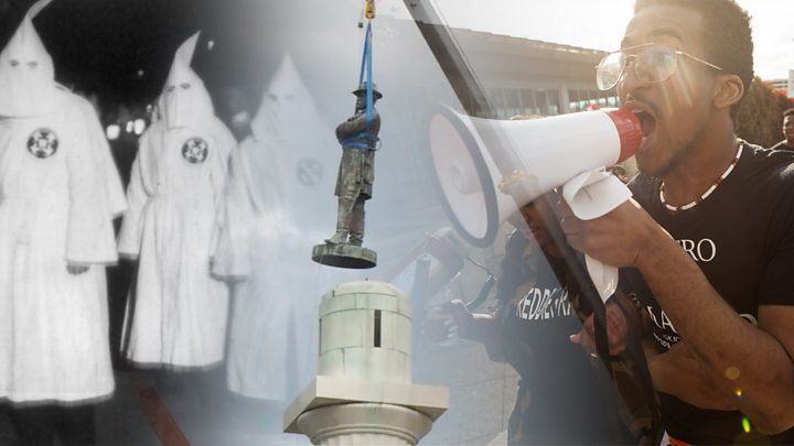 Charlottesville: Confederate soldier statue removed thumbnail