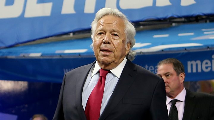 p071qk9g - NFL owner accused in prostitution sting