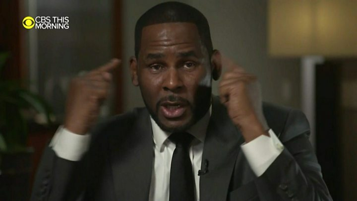 'This isn't me!' R  Kelly denies abuse allegations