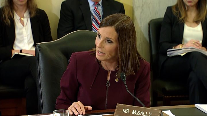 Sen. McSally reveals officer raped her in the Air Force