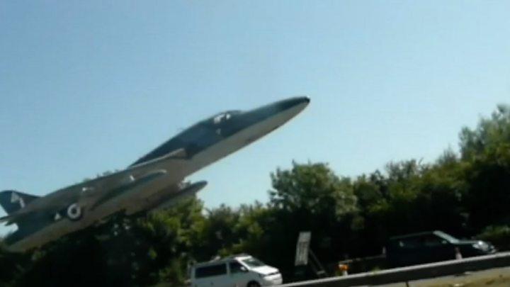 Hawker Hunter jet crashed killing 11 men
