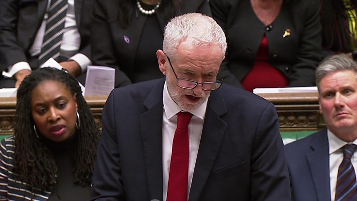 Labour: MPs must reject May's Brexit deal