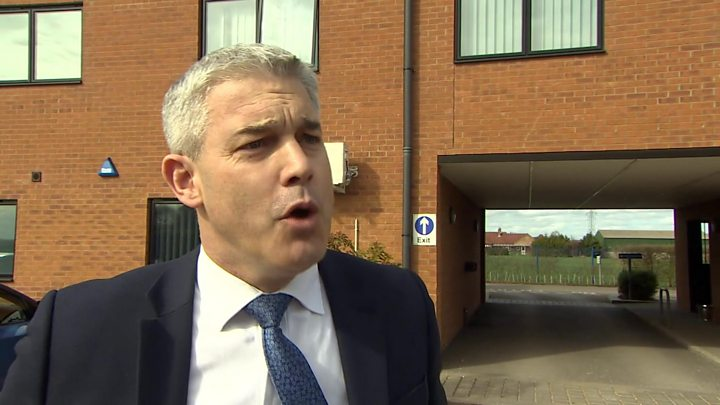 Media playback is unsupported on your device                  Media caption Stephen Barclay