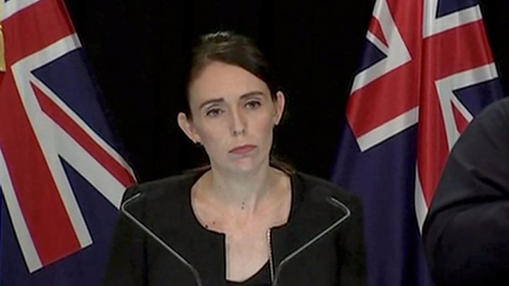 """Jacinda Ardern: NZ """"gun laws will change... now is the time"""""""