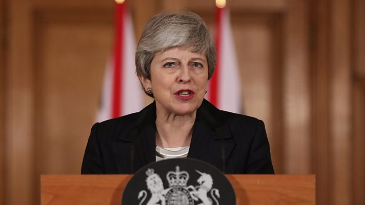 How May summoned up her inner Trump for her Brexit address