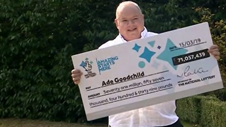 Factory worker scoops £71m lottery win