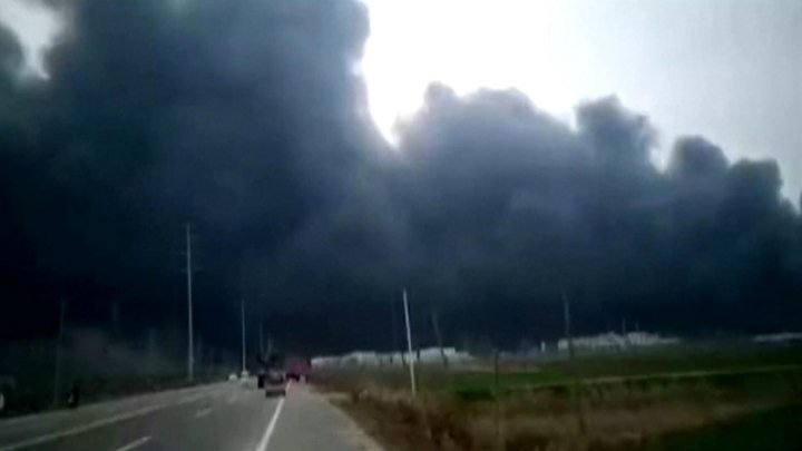 Blast rocks east China chemical plant, casualties unknown