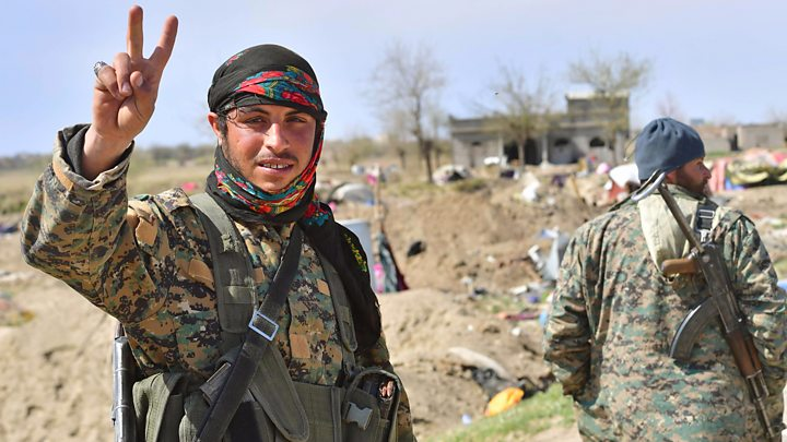 Islamic State group: Syria's Kurds call for global  tribunal