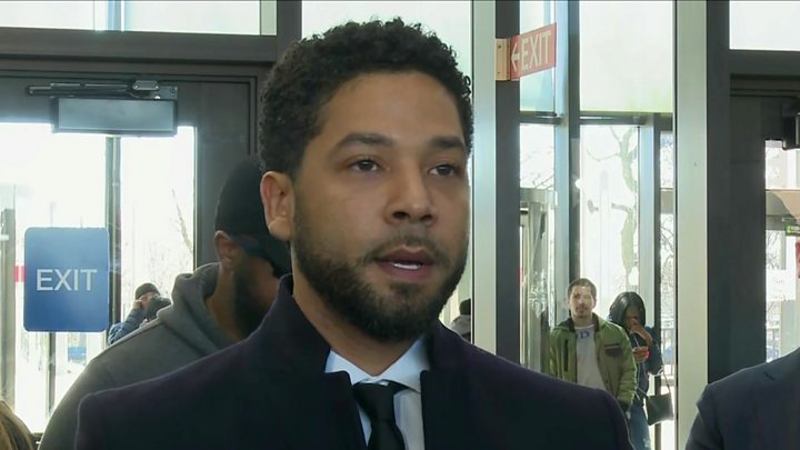 Jussie Smollett: Prosecutors drop all charges against actor