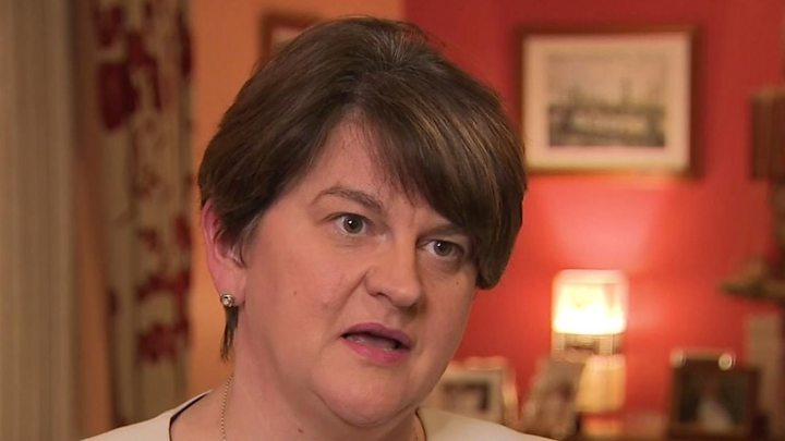 DUP confirms it would not support PM's Brexit deal