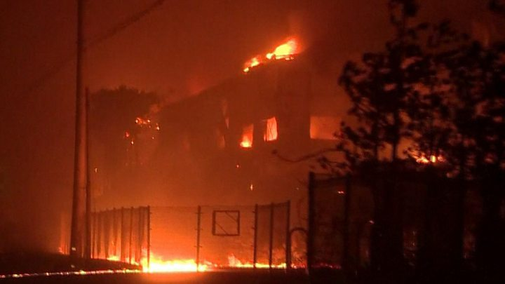 Firefighters extinguish large parts of South Korean blaze