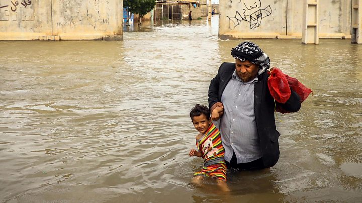 Iran floods death toll reaches 70