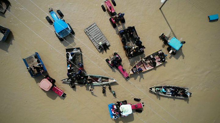 Iran floods: Fresh evacuations with more rain forecast