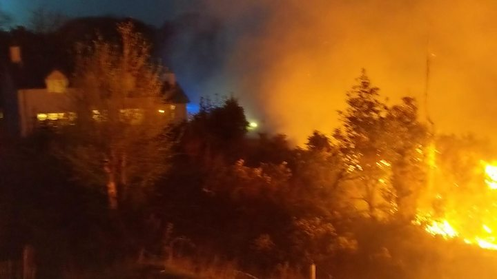 Mournes wildfire: Firefighters bring blaze under control