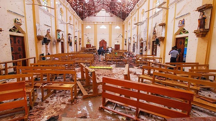 Aftermath of deadly Sri Lanka explosions