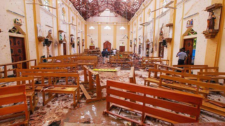Cierran iglesias de Sri Lanka por seguridad; dimite responsable de Defensa