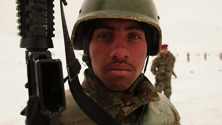 p077krmx Afghan battle: Clashes shatter partial truce after US deal