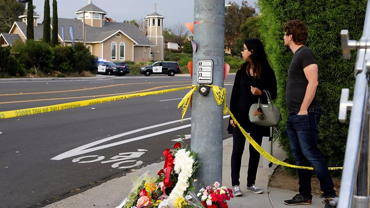 One dead after US synagogue shooting