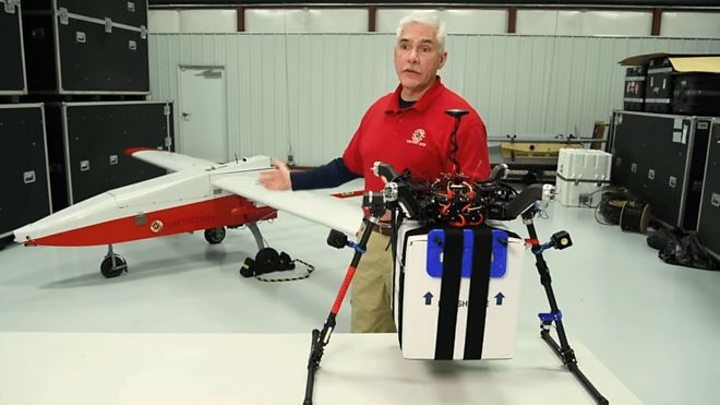 kidney delivered by drone
