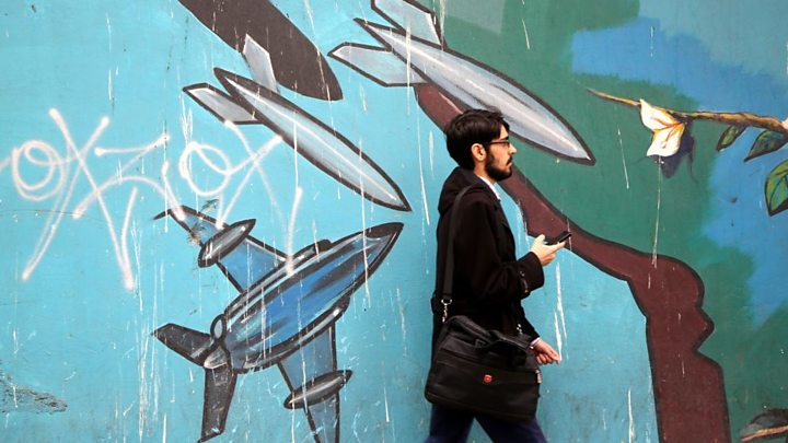 Iranians fear country on brink of war