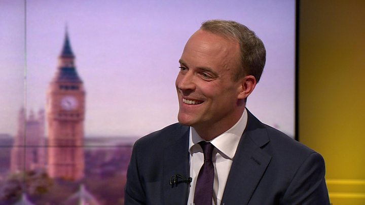Tory leadership: Raab sets out leader bid as Gove joins race
