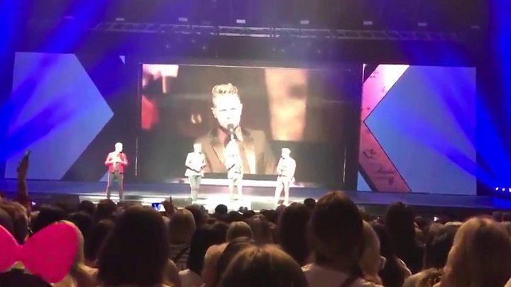 Westlife fans left standing after Glasgow seat mishap