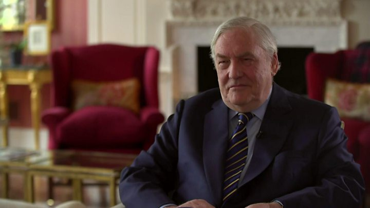 Conrad Black plans return to the Lords after Trump pardon