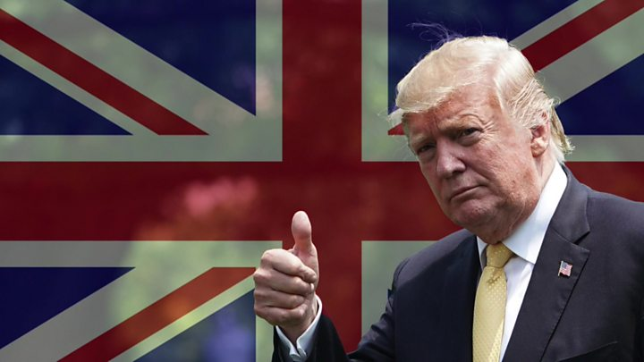 Donald Trump says Boris Johnson would be 'excellent' Tory leader