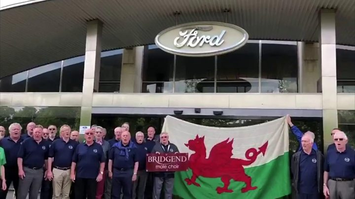 Voices of support for Welsh Ford workers