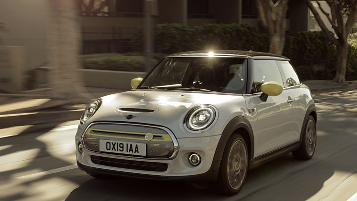 BMW's all-electric Mini Cooper rolls onto the scene in March 2020