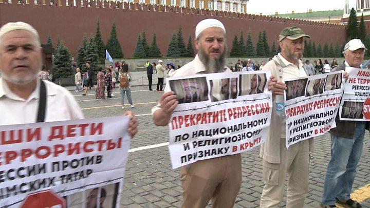 МИД протестует против задержаний крымских татар