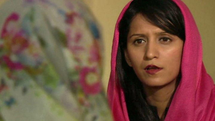 سوپر زن افغانی