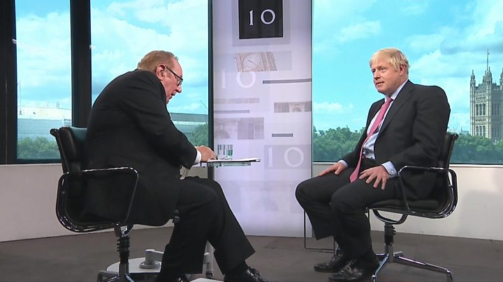 Media playback is unsupported on your device                  Media caption Boris Johnson on Sir Kim Darroch