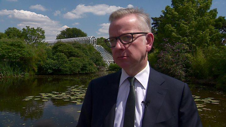Tory leadership race: Michael Gove 'keeping shtum' over choice
