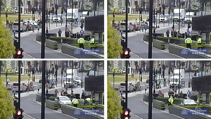 Westminster car crash: Salih Khater guilty of attempted murder