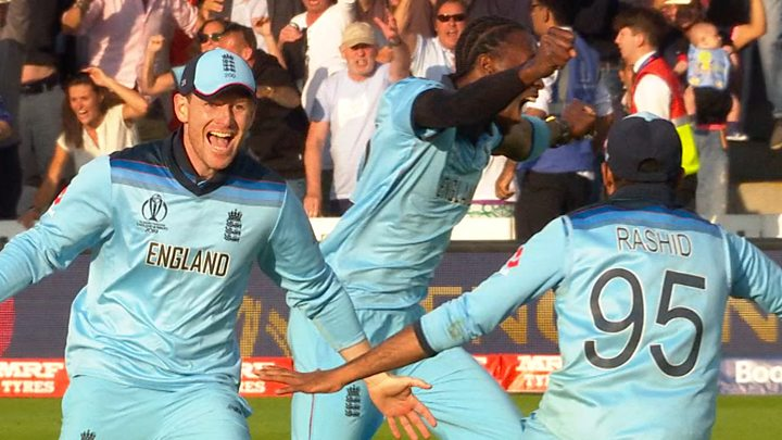 Watch the moment England won the World Cup