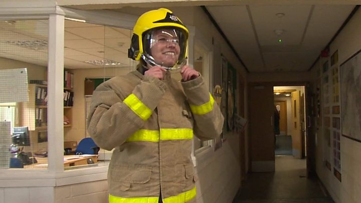 Newsreader to become firefighter