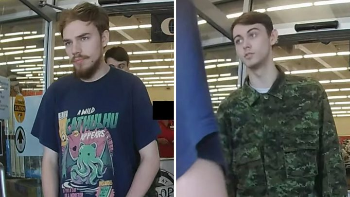 Canadian murder suspects were let go after stop at checkpoint
