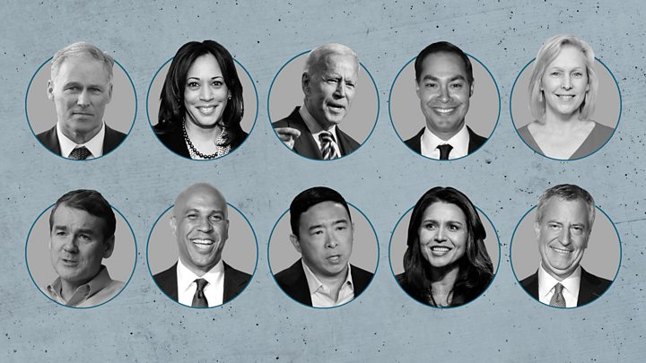 Democratic debate winners and losers from both nights - BBC News