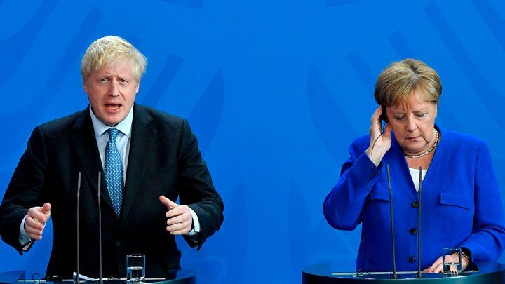 Johnson to meet Macron as French president downplays backstop hopes 2