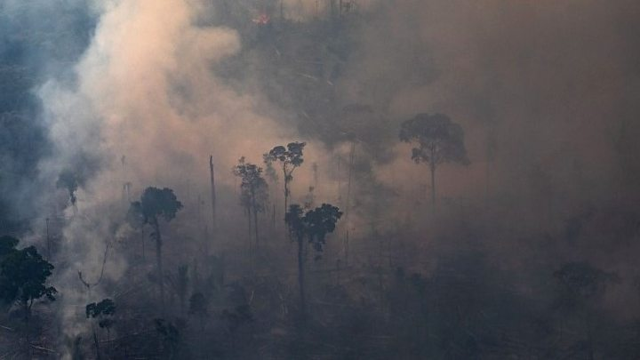Amazon rainforest belongs to Brazil, says Jair Bolsonaro