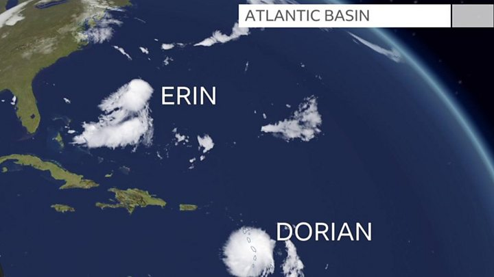 Tropical Storm Dorian: Puerto Rico declares emergency - BBC News