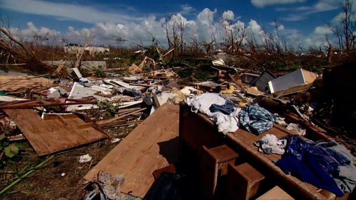 pics of the bahamas after hurricane dorian