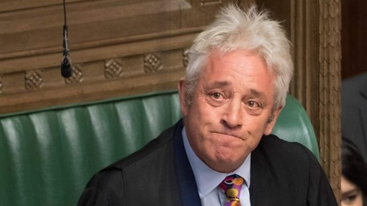 Bercow warns Johnson against disobeying Brexit law 16