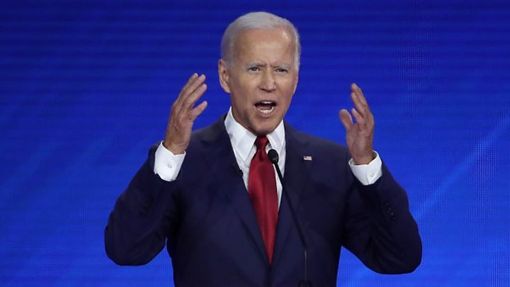 Joe Biden: Democratic frontrunner jokes about age questions