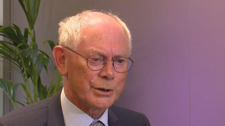 Herman Van Rompuy says Brexit 'has changed EU view of Scotland'