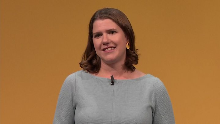 Lib Dems: Being a woman is not a weakness, says Swinson