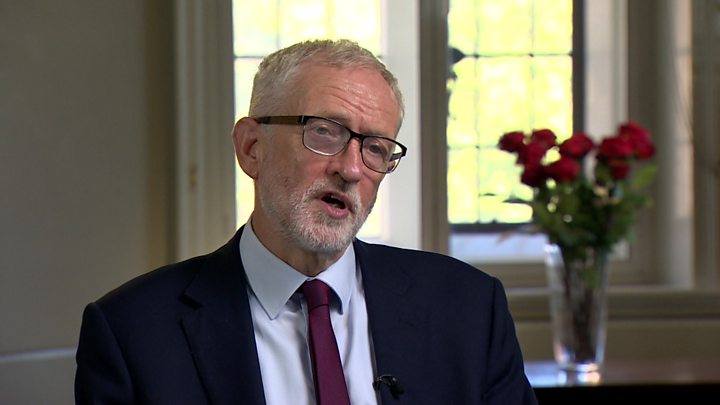 Jeremy Corbyn 'daunted' by prospect of becoming prime minister